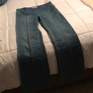 Free People Jeans - Free people slim flare pull on jeans
